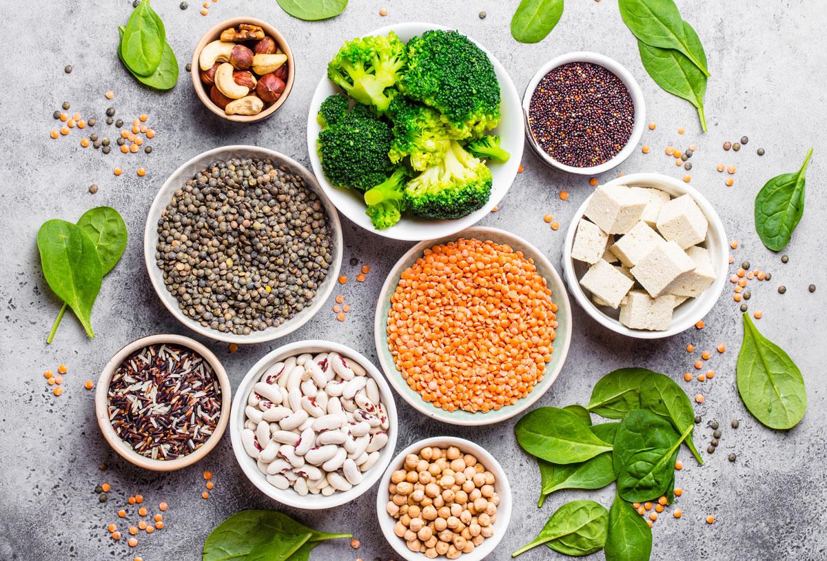 fuentes con alimentos con proteínas para deportistas